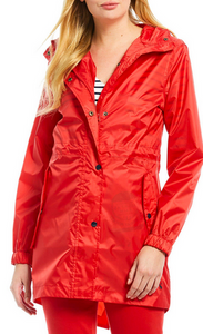 JOULES RIGHT AS RAIN JACKET PACKABLE RED