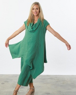 Load image into Gallery viewer, BRYN WALKER NOA TUNIC 1384-GREEN AND TURQUOIS