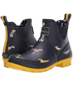 Load image into Gallery viewer, JOULES WELLIBOB NAVY/YELLOW DOGS/RED