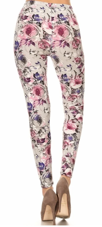 SUEDED ABIGAIL ROSE - REGULAR BAND LEGGING FLIRTY AND FEMME