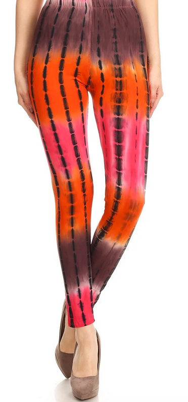 CORAL OMBRE - REGULAR BAND LEGGING FLIRTY AND FEMME