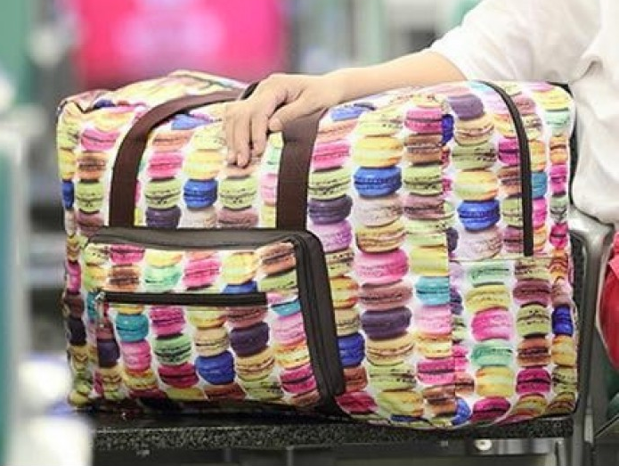 NYLON EXPANDIBLE TRAVEL BAG