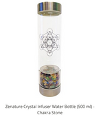 Load image into Gallery viewer, ZENATURE WATER INFUSER CHAKRA STONES