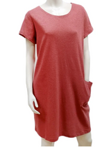 Load image into Gallery viewer, FINAL SALE $40.00 GILMOUR HEMP COTTON POCKET DRESS HCD-3012