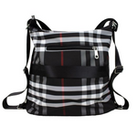 Load image into Gallery viewer, CROSSBODY TRAVEL BAG BLACK 06775