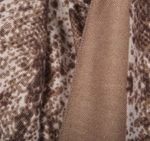 Load image into Gallery viewer, SNAKE PRINT SCARF 08382