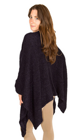 Load image into Gallery viewer, POKOLOKO CARDI BLACK CKOR10 20% mohair BLACK O/S