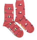 Load image into Gallery viewer, FRIDAY SOCKS - WOMENS LOVE BOOKS