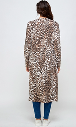 Load image into Gallery viewer, MILEY+MOLLY LONG LEOPARD DUSTER