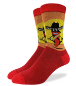Load image into Gallery viewer, GOOD LUCK SOCKS CHILLI STAQNDOFF 7-12