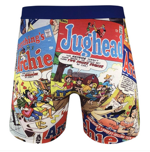 MENS GOOD LUCK UNDERWEAR ARCHIE COMIC
