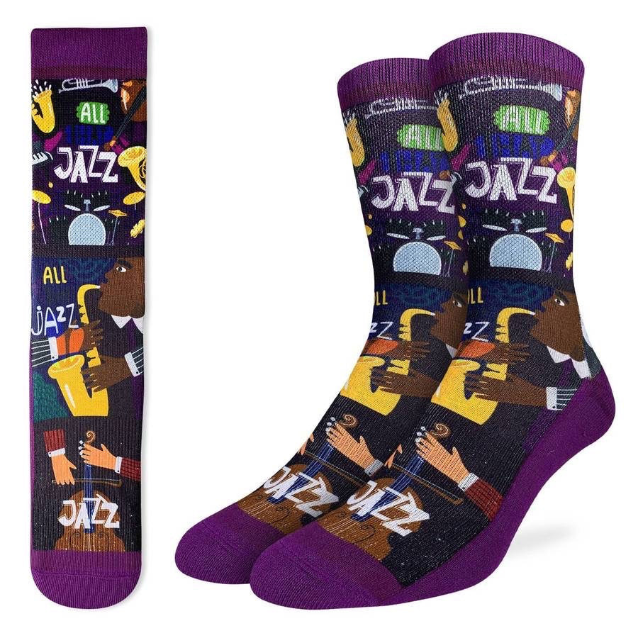 GOOD LUCK SOCK-  JAZZ SIZE 8-13