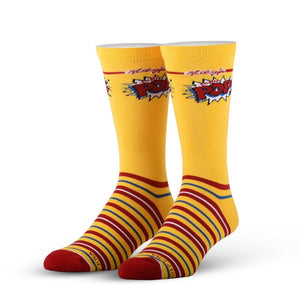COOL SOCK-  CORN POP SIZE 6-13