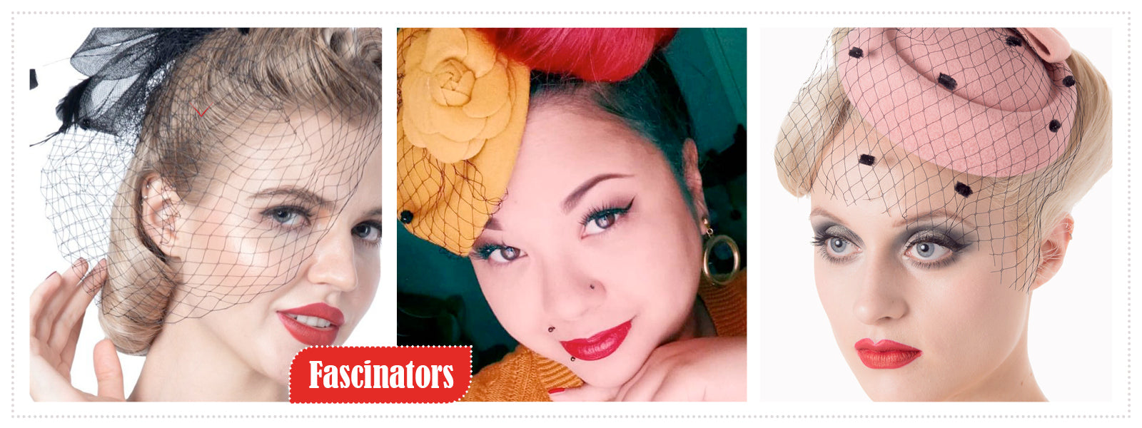 Fascinators, Pillbox Hats & Hairclips