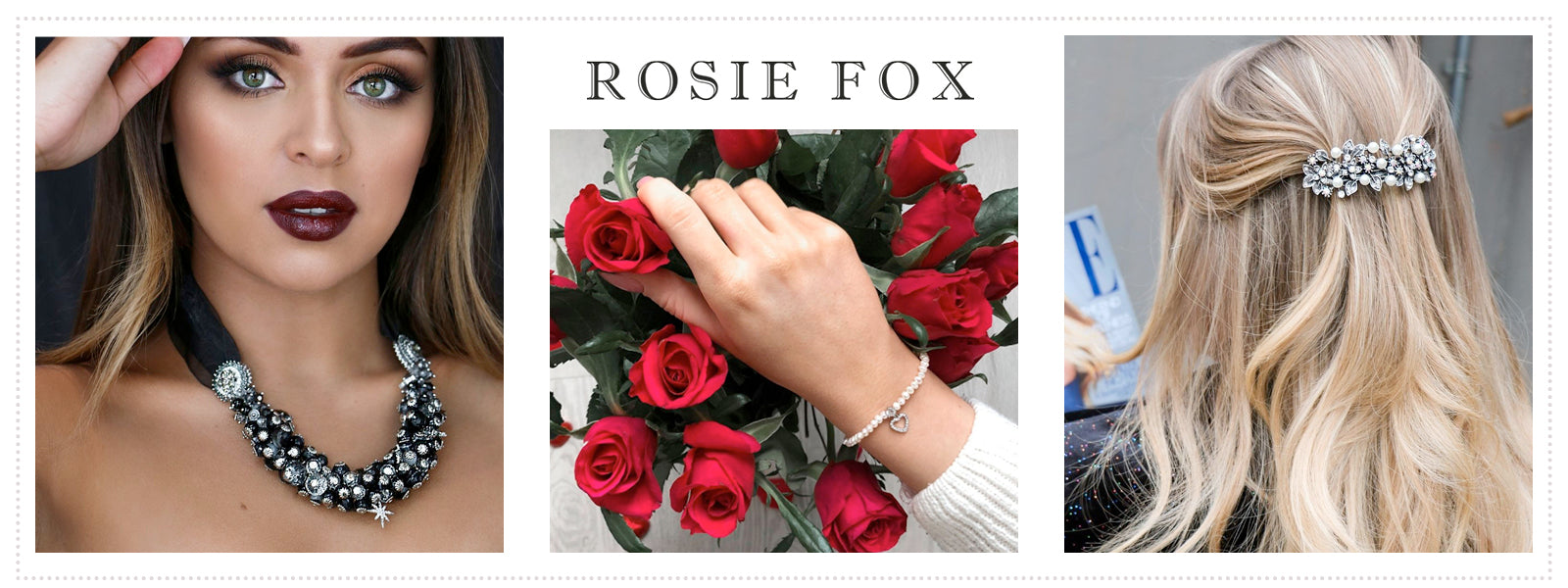 A collection of Rosie Fox Jewellery