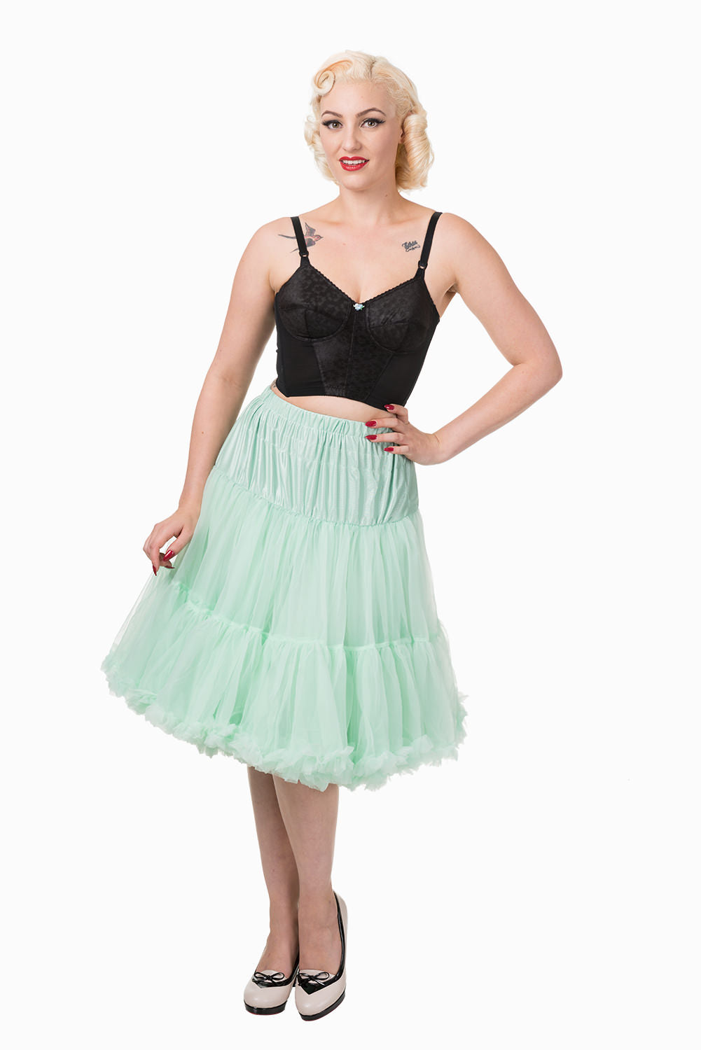 "Banned Retro Lifeforms 50s Petticoat - 26"" - Bohemian Finds"