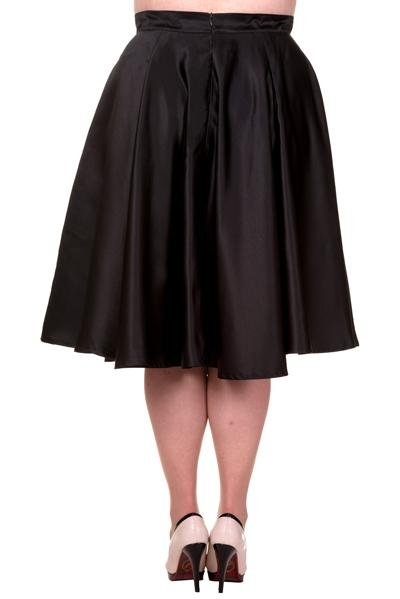 Banned Black Miracles Skirt (Plus Size) - Bohemian Finds