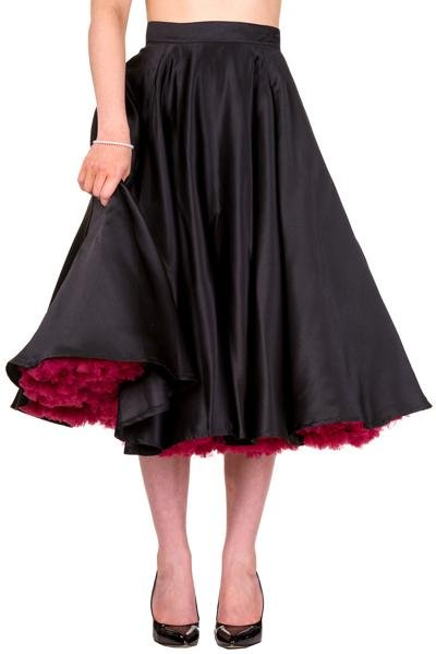 Banned Miracles Skirt (Black) - Bohemian Finds
