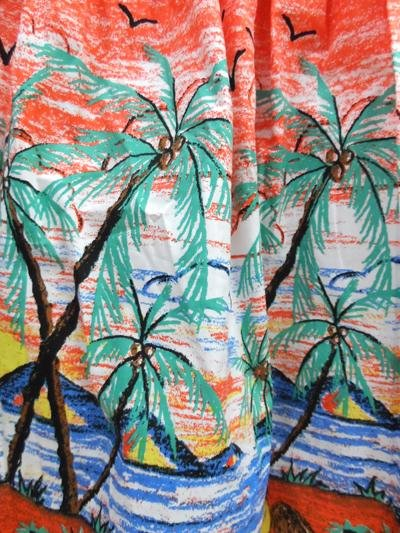 Banned Palm Springs Tropical Skirt - Bohemian Finds