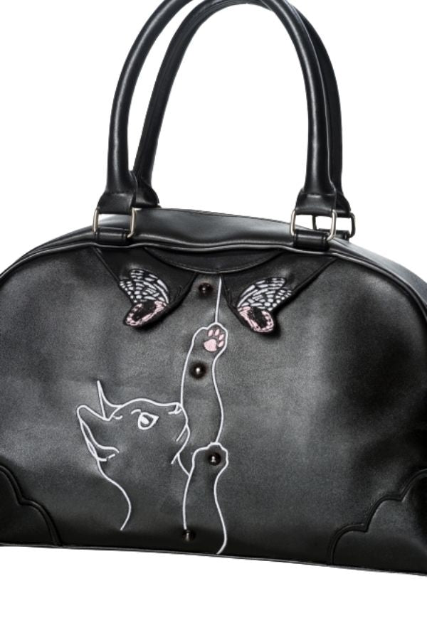 Banned Retro 50's Meow Handbag - Bohemian Finds