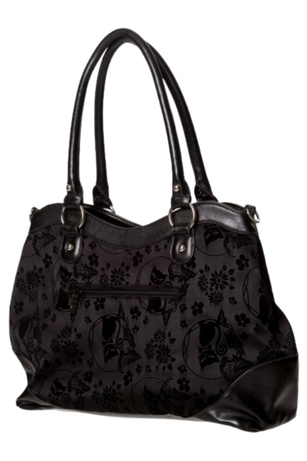 Banned Alternative Call of the Phoenix Flocked handbag - Bohemian Finds
