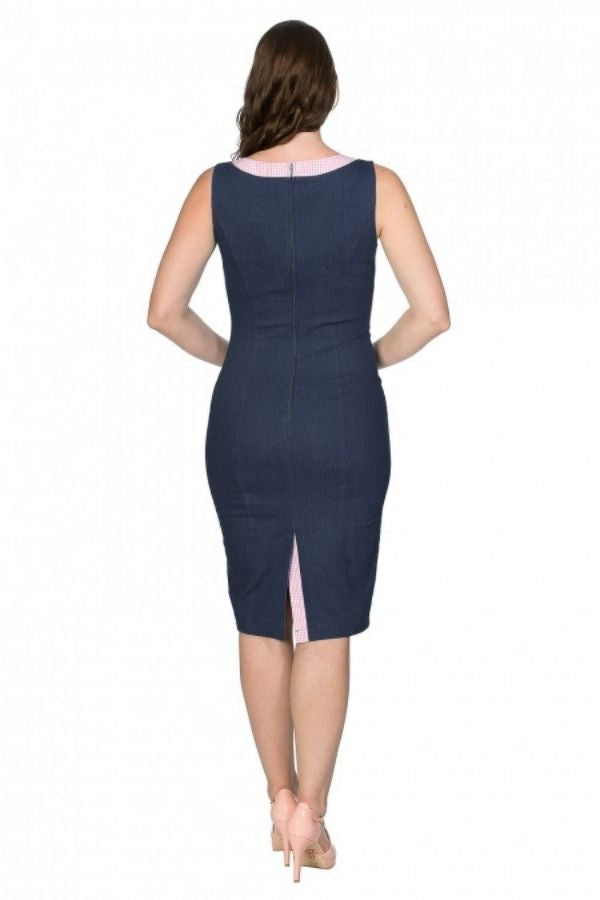 Banned Retro Diner Days Pencil Dress