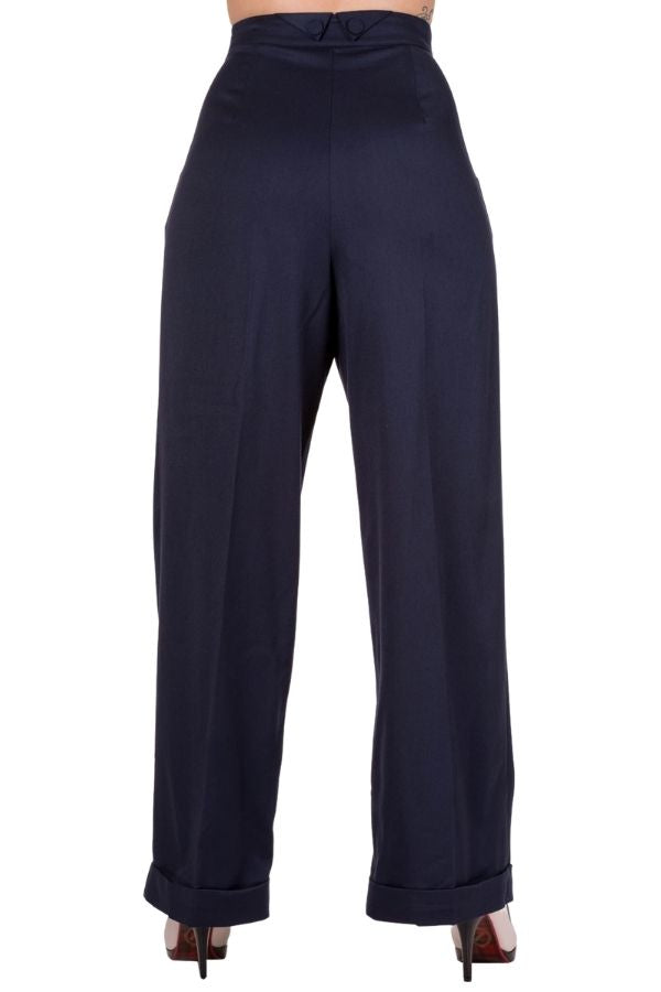 Banned Retro Hidden Away 40s Trousers - Bohemian Finds