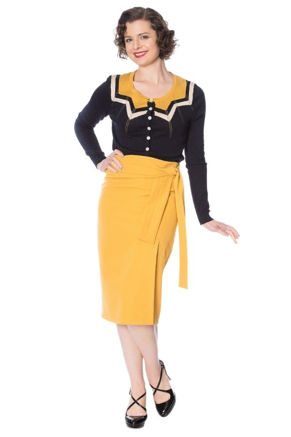 Banned Retro 50s Bow Skirt - Bohemian Finds