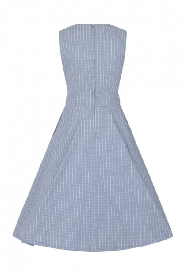 Banned Retro Grid Check Dress