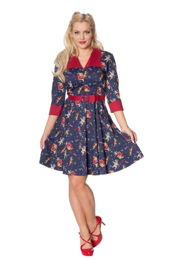 Banned Retro 50s Space Vamp Dress - Bohemian Finds
