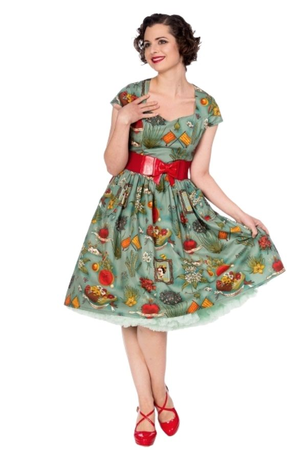 Banned Retro 50s Summer Moon Dress - Bohemian Finds