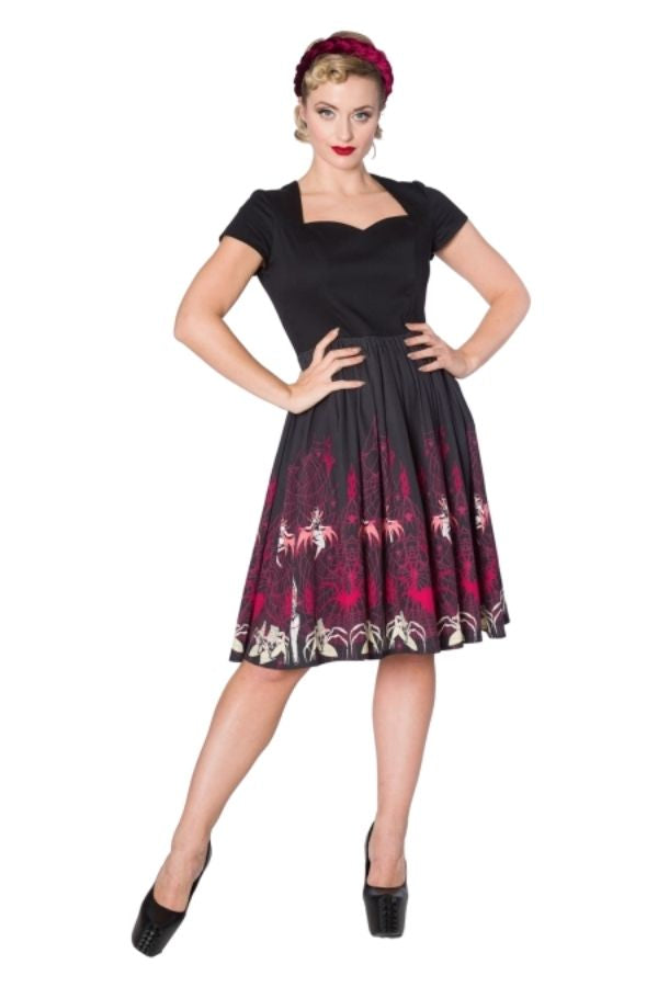 Banned Retro Vixens Dress - Bohemian Finds
