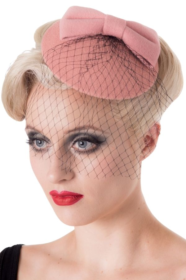 Banned Retro 40s Candice Hat - Bohemian Finds