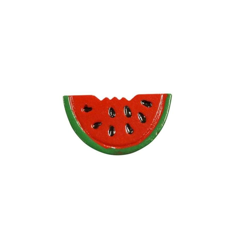 Collectif Accessories Watermelon Fruit Brooch - Bohemian Finds