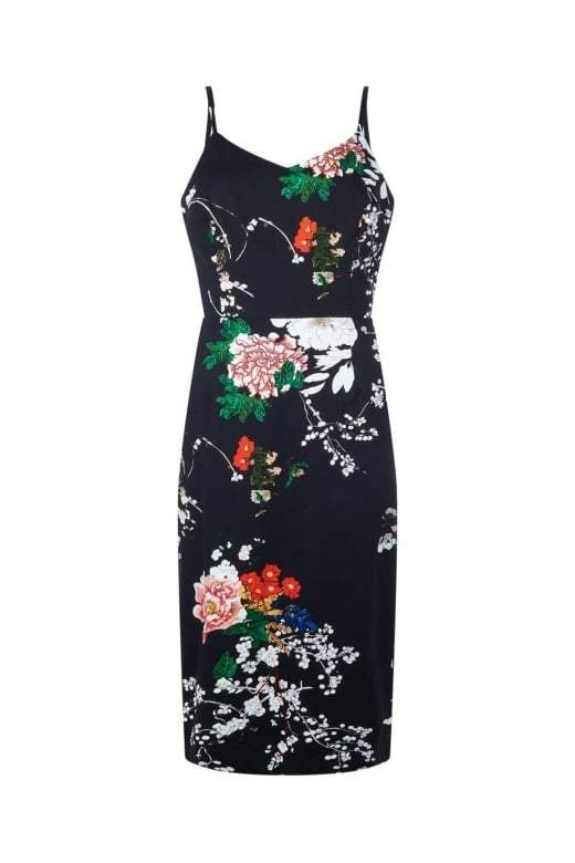 Collectif Cinthia Blossom Print Dress - Bohemian Finds
