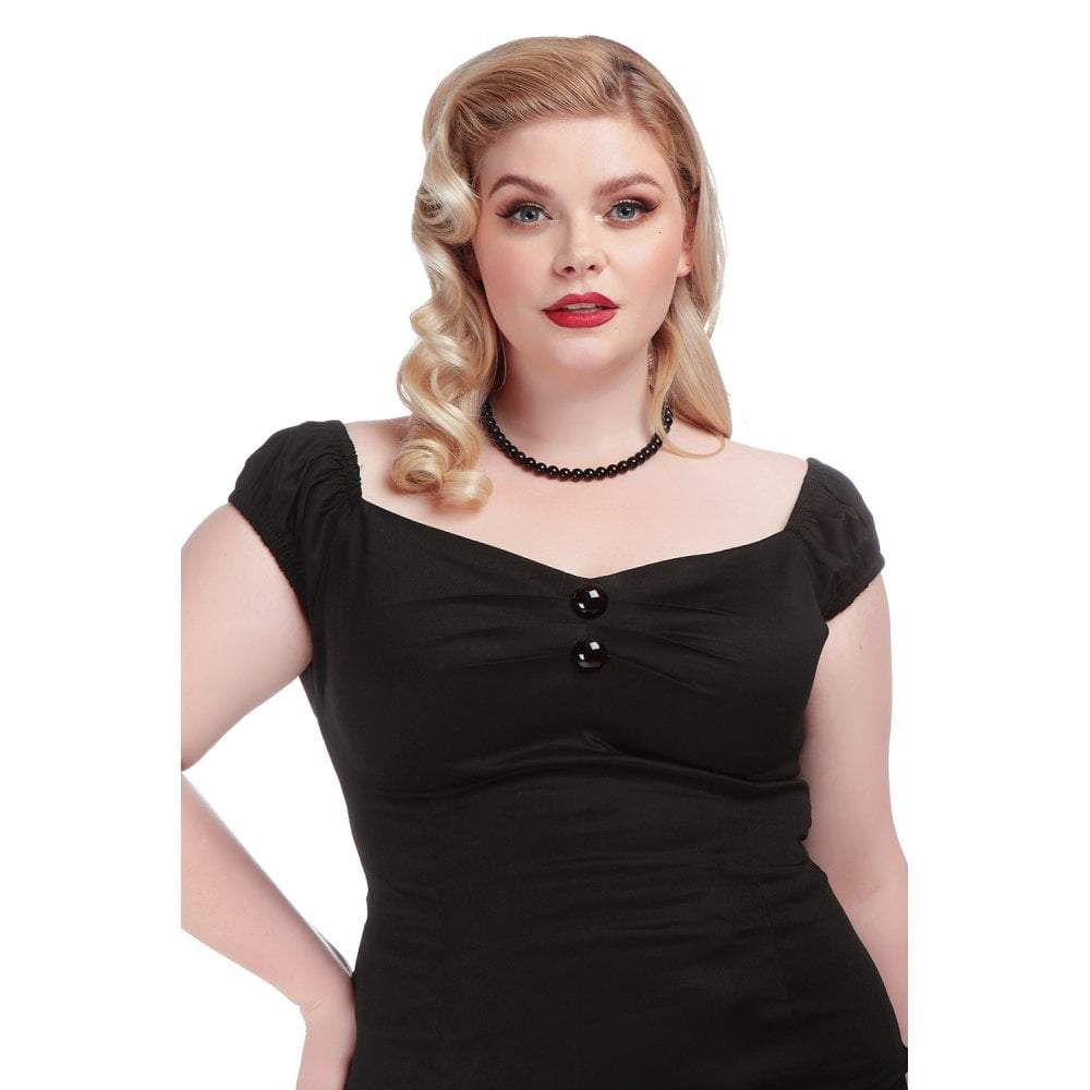Collectif Dolores Top (Black) - Bohemian Finds