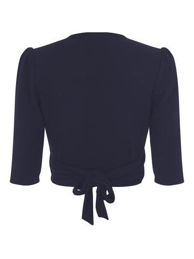 Collectif Jenny Plain Wrap (Navy) - Bohemian Finds