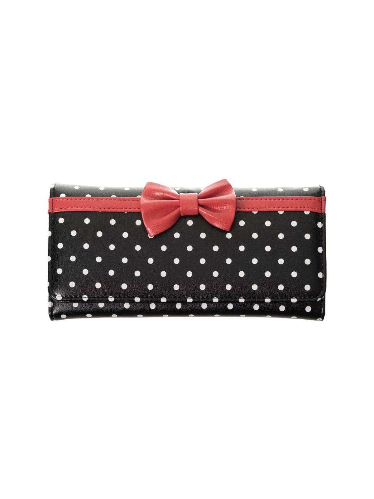 Banned Carla 50s Wallet (Black/Red) - Bohemian Finds