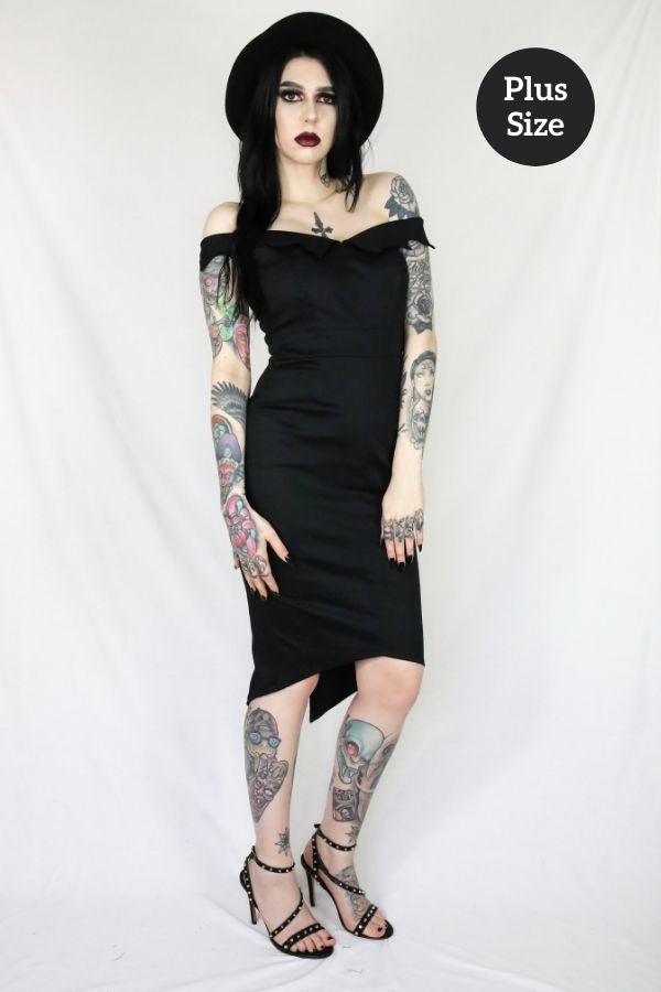 Coven Bat Collar Dress - Bohemian Finds
