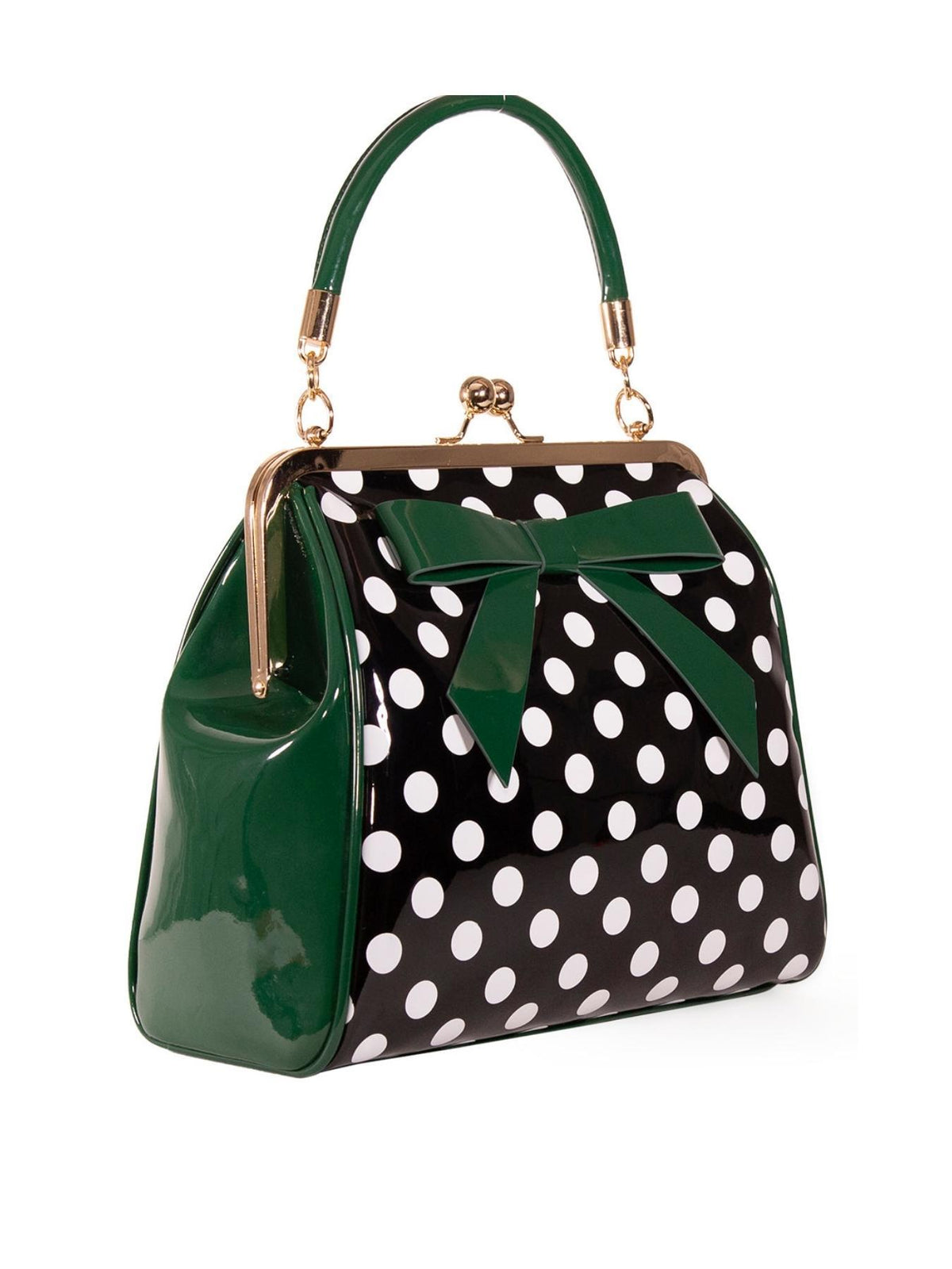 Banned Retro American Polka Dot 50s Bag - Bohemian Finds