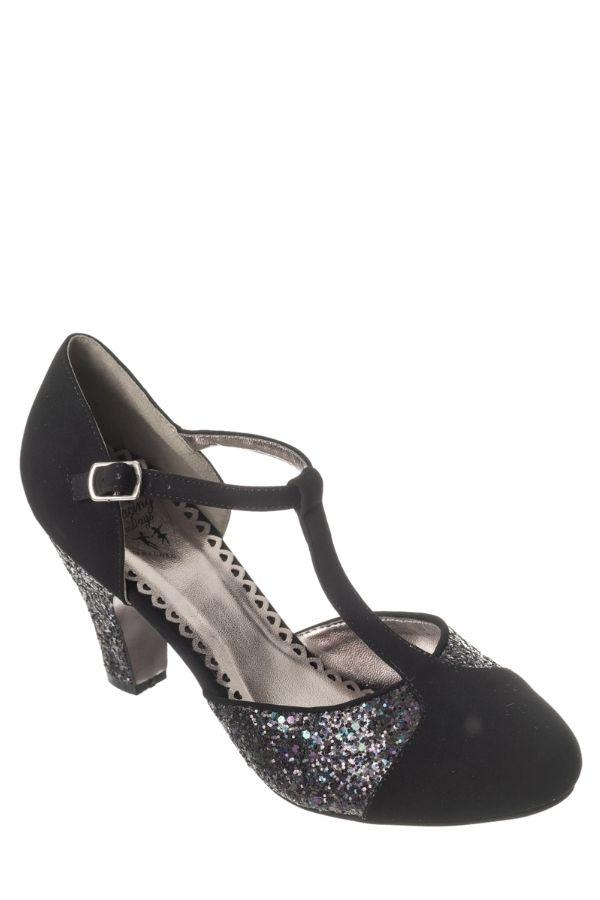 Dancing Days CHINA GIRL Black Party 40s 50s Shoes - Bohemian Finds