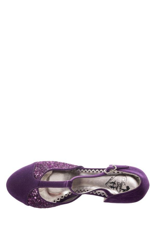 Dancing Days CHINA GIRL Purple Party 40s 50s Shoes - Bohemian Finds