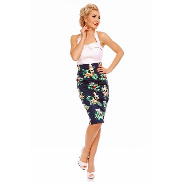 Dolly and Dotty Falda Chic Pin up Skirt - Bohemian Finds