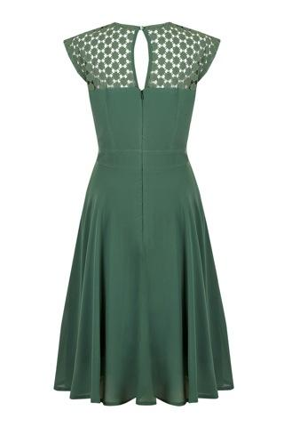 Eucalyptus Gillian Dress (Green) - Bohemian Finds