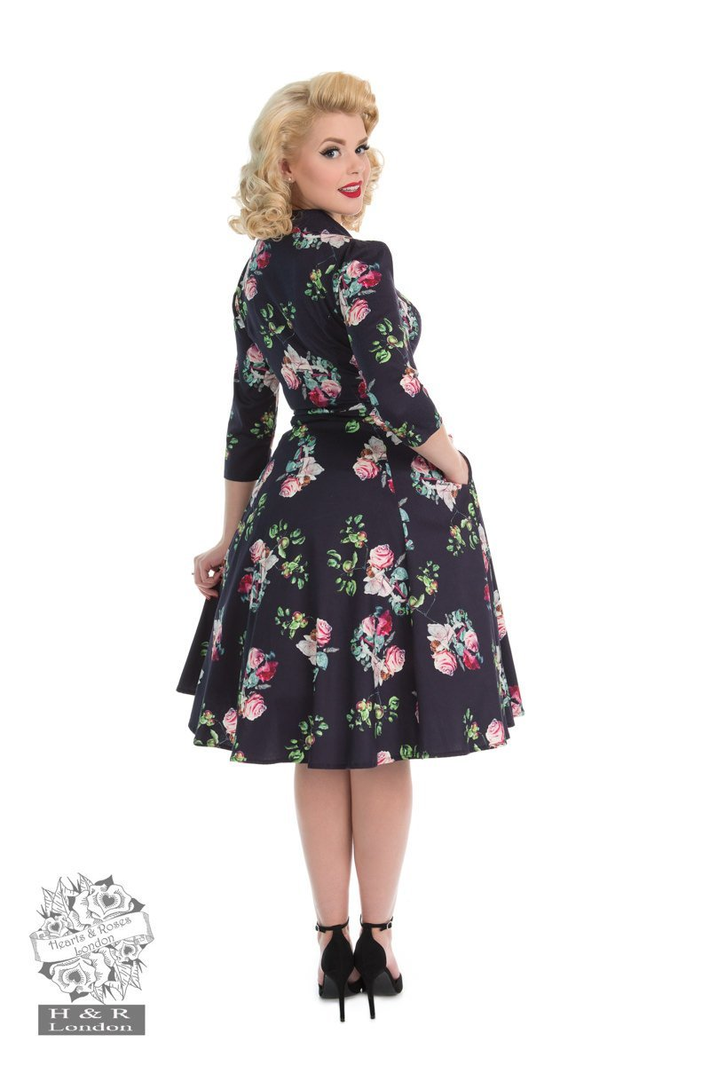 H & R London Marietta Swing Dress (Plus Size) - Bohemian Finds