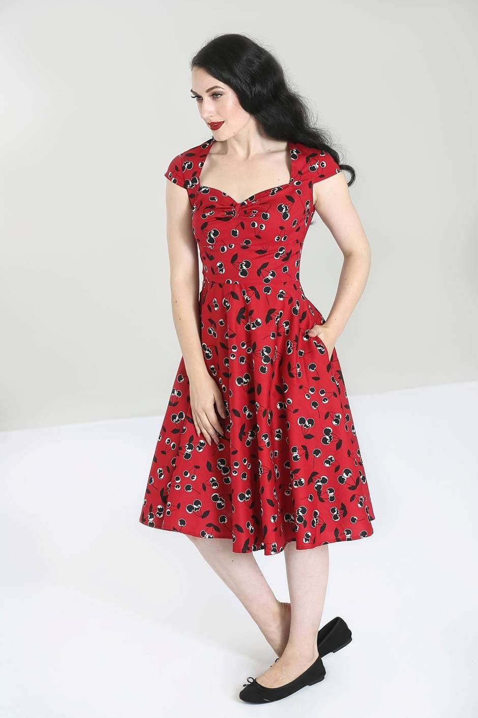 Hell Bunny 50's Alison Dress - Bohemian Finds