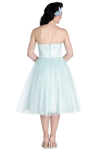 Hell Bunny 50's Mint Green Tamara Dress - Bohemian Finds