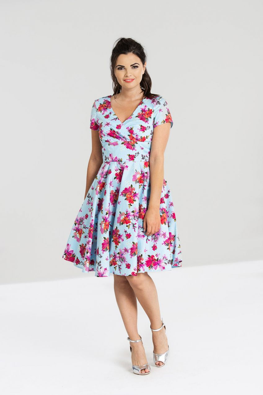 Hell Bunny Alyssa Mid Dress - Bohemian Finds