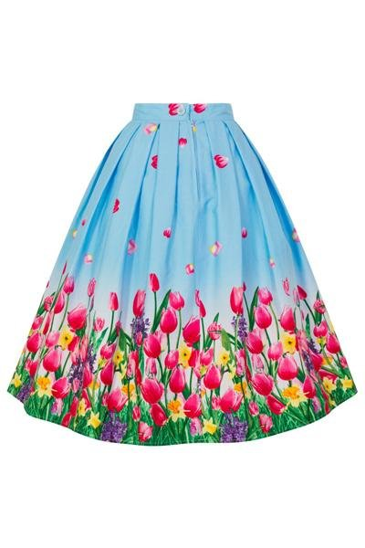 Hell Bunny Angelique 50's Skirt - Bohemian Finds