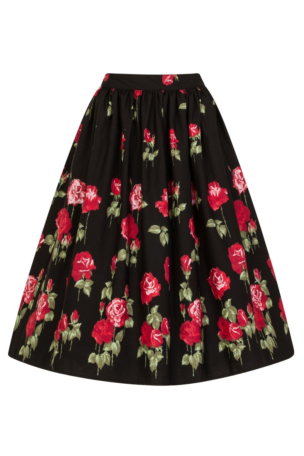 Hell Bunny Antonio Skirt (Plus Size) - Bohemian Finds